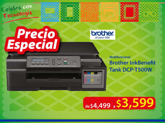 Ofertas de CompuDabo, Brother Multifuncional
