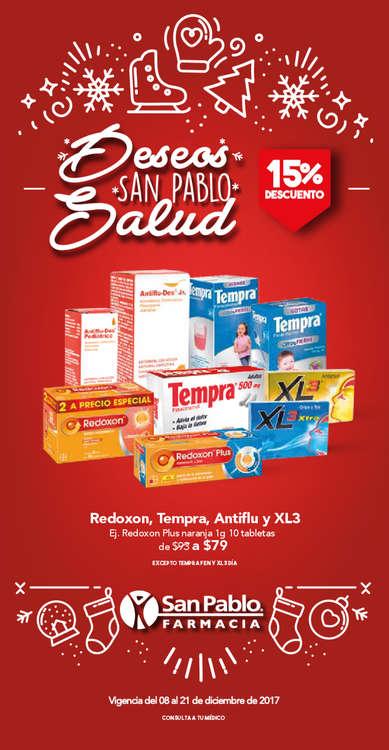 Ofertas de San Pablo Farmacia, Deseos San Pablo