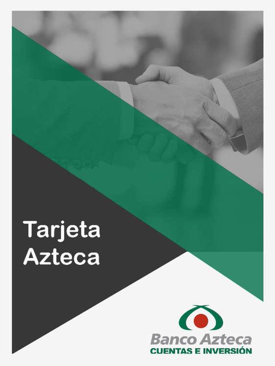 Ofertas de Banco Azteca, Tarjeta Azteca