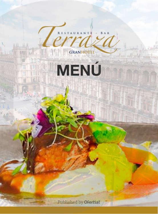 Ofertas de Terraza, Terraza menú