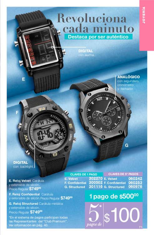 ad22b9c8c0a6 Relojes deportivos en Jalapa - Catálogos
