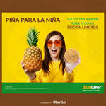 Ofertas de Subway, Galletas de piña - edición limitada