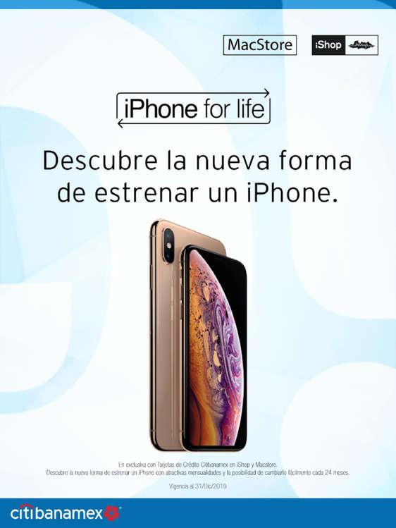 Ofertas de Citibanamex, iPhone for life