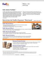 Ofertas de Fedex, Servicios y tarifas México 2020