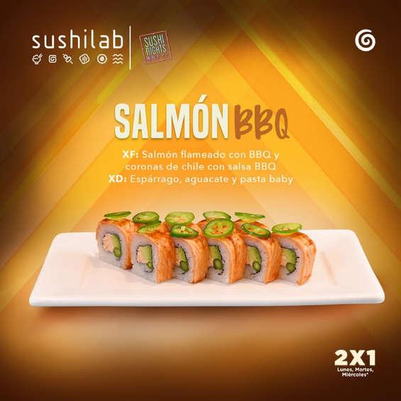Ofertas de Sushi Roll, Salmón BBQ
