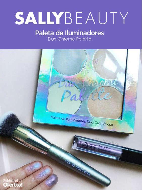 Ofertas de Sally Beauty Supply, Paleta de Iluminadores Duo Chrome Palette
