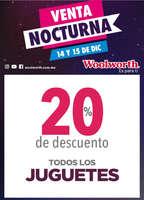 Ofertas de Woolworth, Venta Nocturna