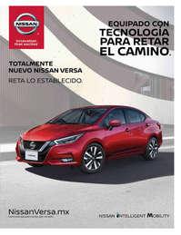 Totalmente nuevo Nissan Versa