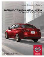 Ofertas de Nissan, Totalmente nuevo Nissan Versa