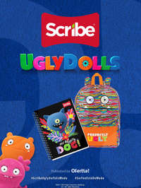 Ugly Dolls x Scribe