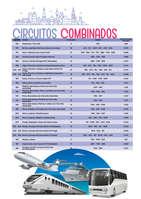 Ofertas de Europamundo, circuitos combinados 2019