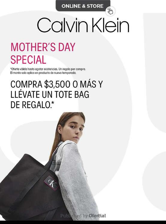 Ofertas de Calvin Klein, Mamá
