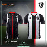 Playera Club de Cuervos Charly Fútbol