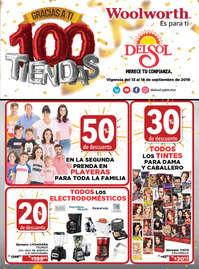 100 tiendas