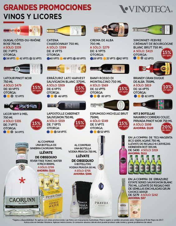 Ofertas de Vinoteca, Vinos y Licores