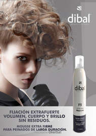 DIBAL MOUSSE EXTRA FUERTE F5 350ML