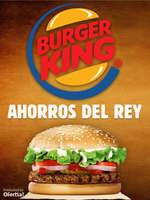 Ofertas de Burger King, Ahorros Del Rey