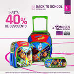 Ofertas de Suburbia, Back to School - mochilas