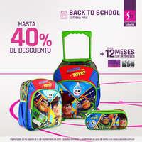 Back to School - mochilas