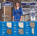 Ofertas de Lowes, Macroventa Pisos