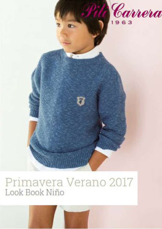 Ofertas de Pili Carrera, Lookbook PV niños 2017