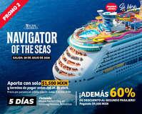 Promociones en cruceros