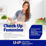Ofertas de Laboratorio Médico Polanco, Check Up Femenino