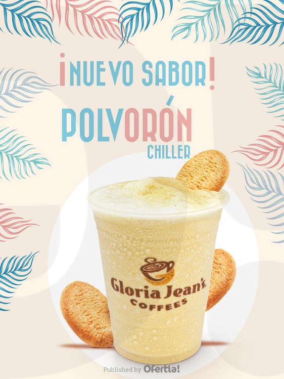 Ofertas de Gloria Jean's Coffees, Nuevo sabor | POLVORÓN CHILLER