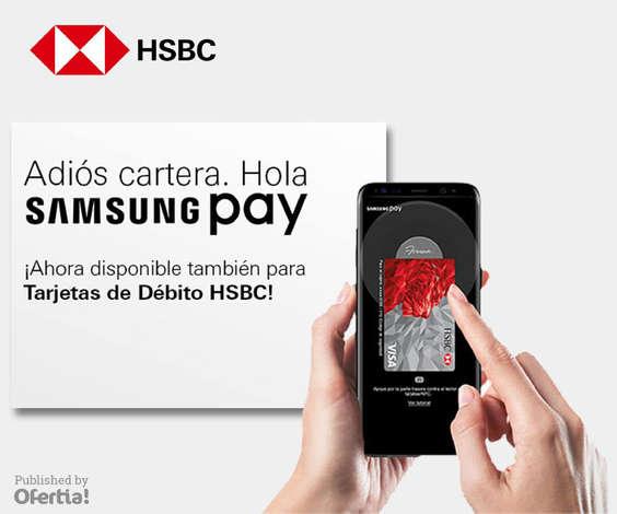 Ofertas de HSBC, Samsung Pay