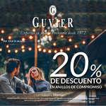 Ofertas de Guvier, Anillos de compromiso - 20% de descuento