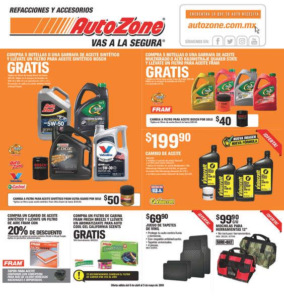 Autozone ofertas cat logos y folletos ofertia - Hogarium catalogo de ofertas ...