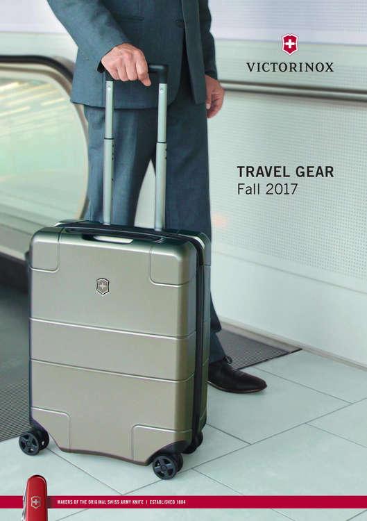 Ofertas de Victorinox, Travel Gear Fall 2017
